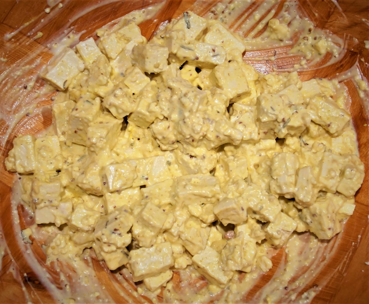 Vegan Tofu Salad 2