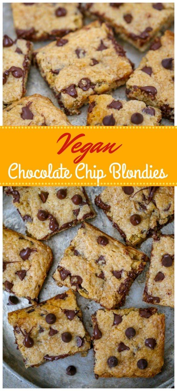 Vegan Blondies