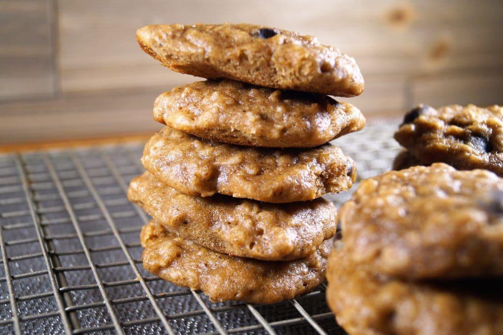 Vegan Oatmeal Banana Cookies