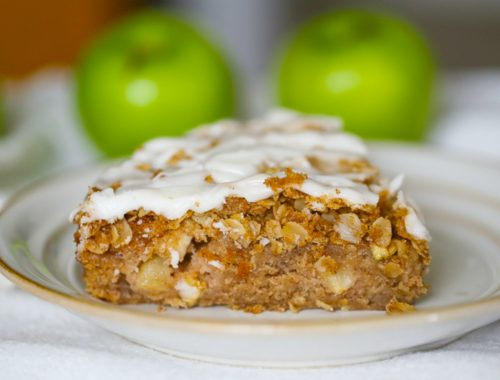 Old-Fashioned Apple Cinnamon Coffee Cake 1