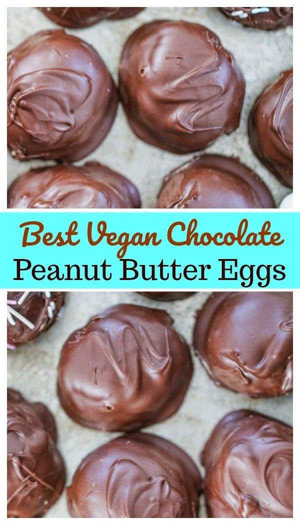 Vegan Chocolate Peanut Butter Eggs 10