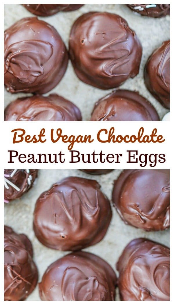 Vegan Chocolate Peanut Butter Eggs 11