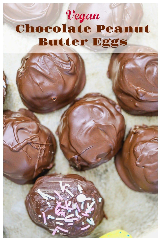 Vegan Chocolate Peanut Butter Eggs 12