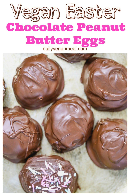 Vegan Chocolate Peanut Butter Eggs 13