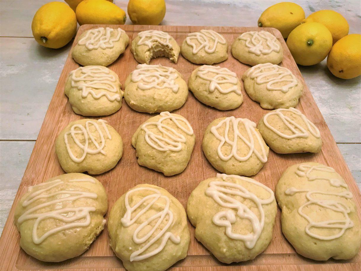 Vegan Lemon Cookies 2
