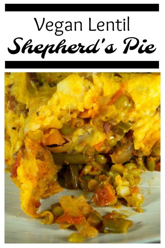 Vegan Lentil Shepherd's Pie Pinterest