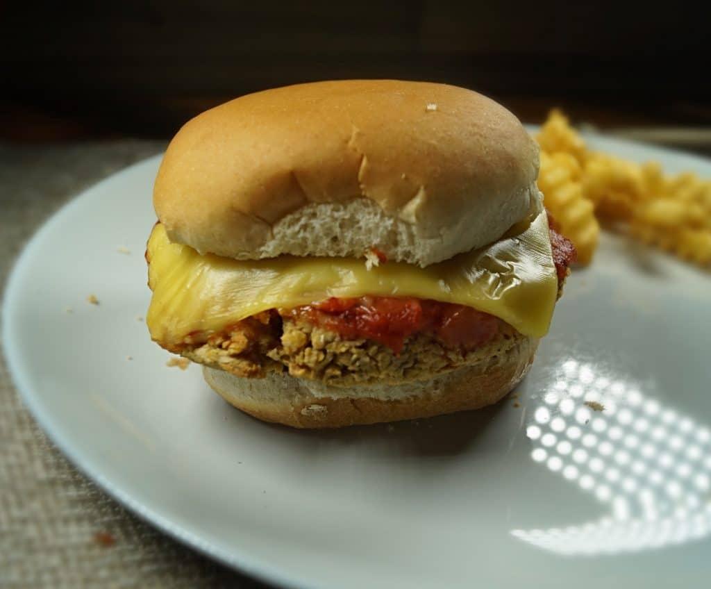 Chickpea Parm Sandwich