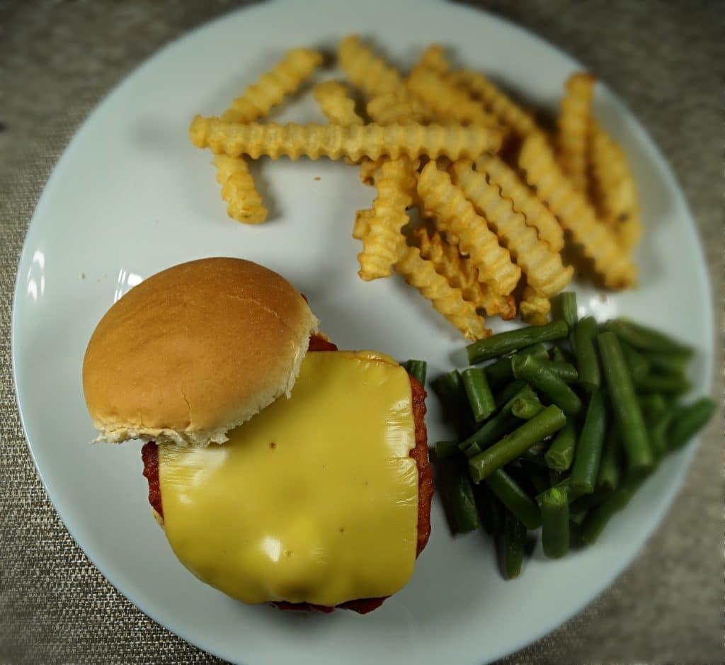 Vegan Chickpea Parm Sandwich