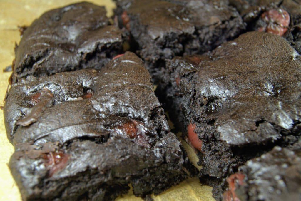 Vegan Black Forest Brownies