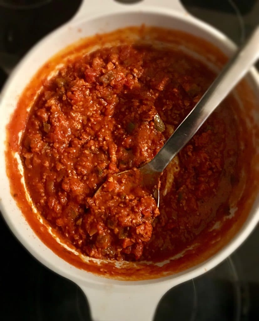 Vegan Meat Pasta Sauce