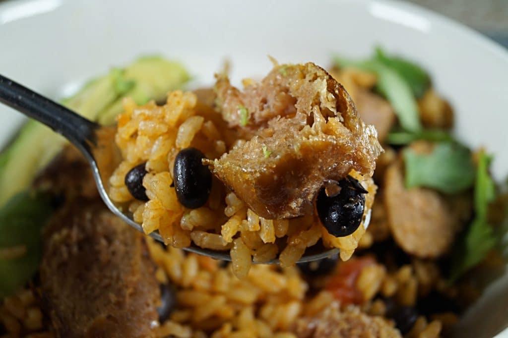Vegan Rice and Beans