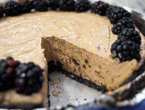 Vegan Chocolate Peanut Butter Pie 2