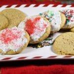 Soft Vegan Sugar Cookies