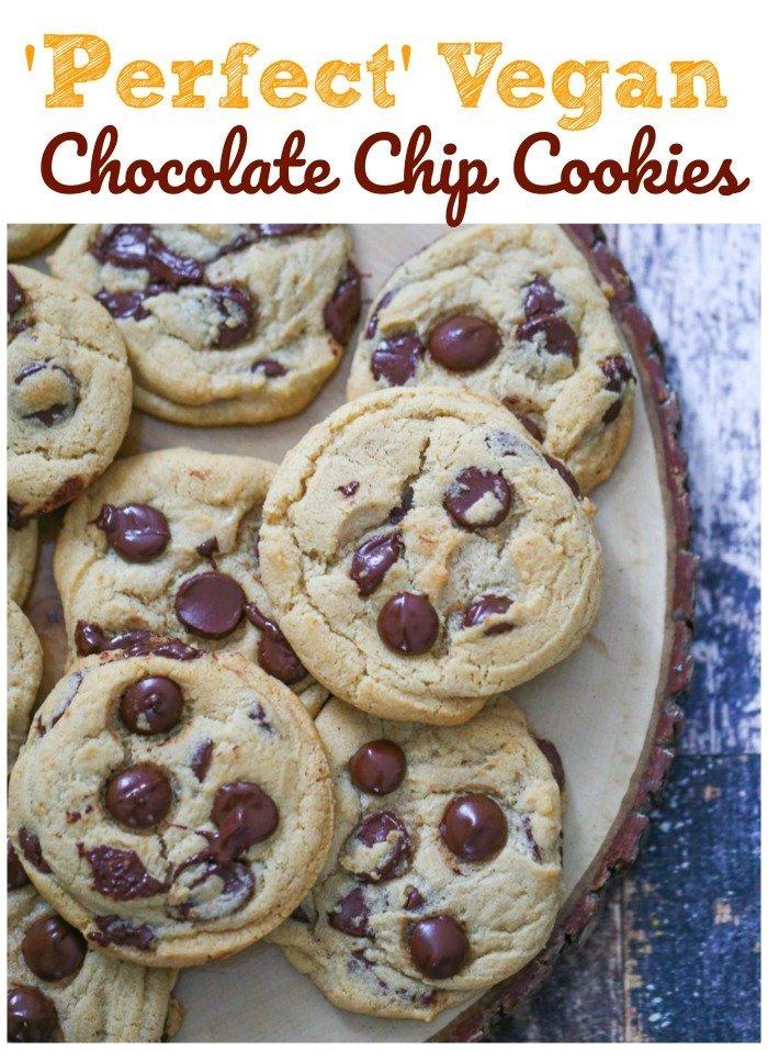 Perfect Vegan Chocolate Chip Cookies