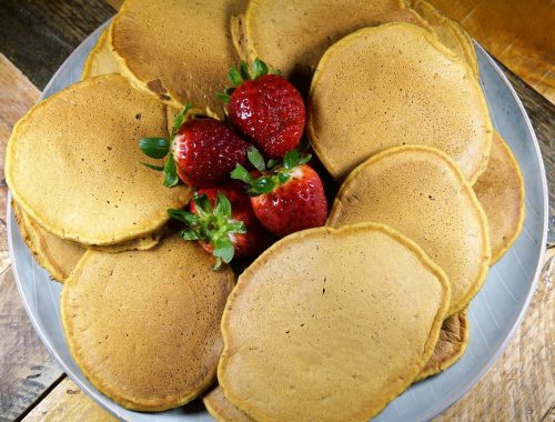Vegan Pumpkin Pie Pancakes 2