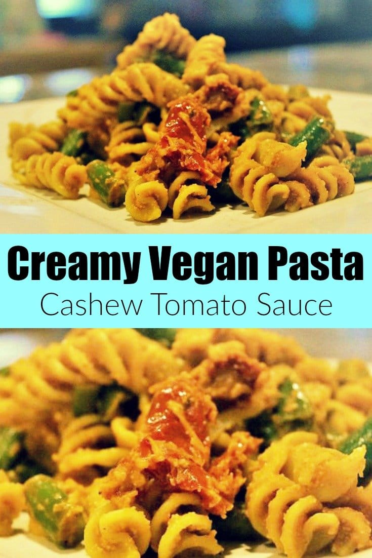 Creamy Vegan Pasta Pinterest