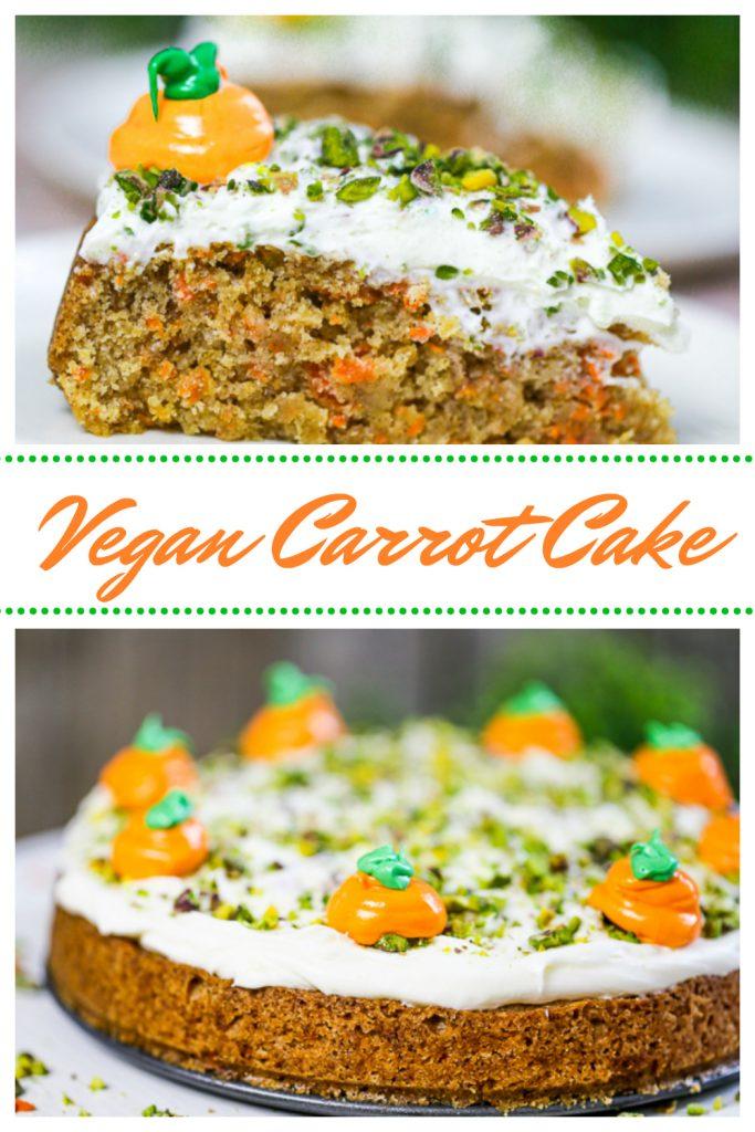 Vegan Carrot Cake Pinterest