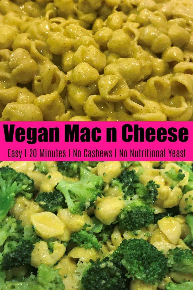 Vegan Mac and Cheese Pinterest