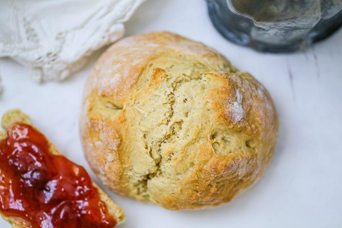 Rustic Vegan Buttermilk No-Yeast Bread