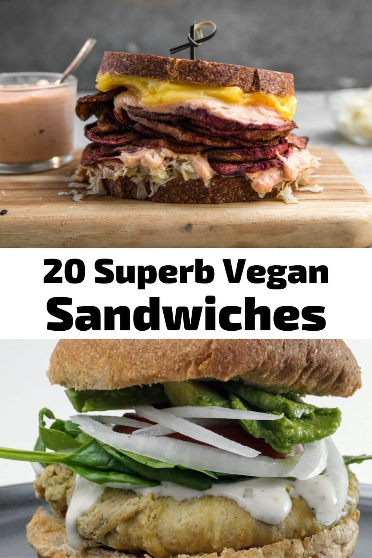 20 Superb Vegan Sandwiches