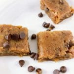 Healthy Vegan Chocolate Chip Cookie Dough