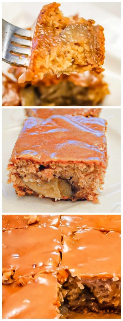 Best Vegan Caramel Apple Cake